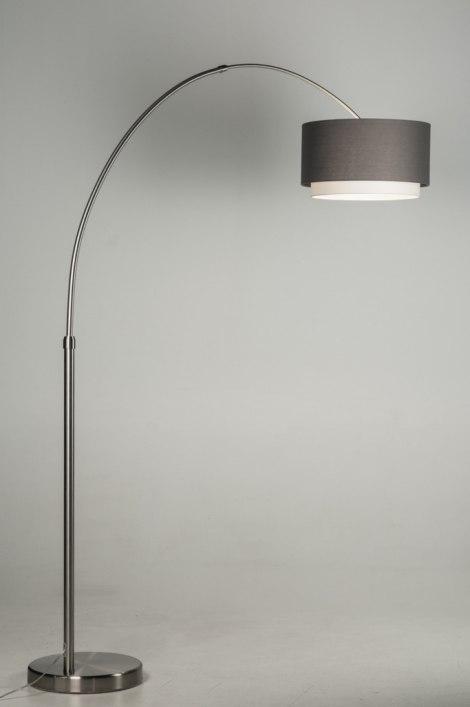 Staande lamp 30547 modern eigentijds klassiek landelijk rustiek grijs - Eigentijds huis grijs ...