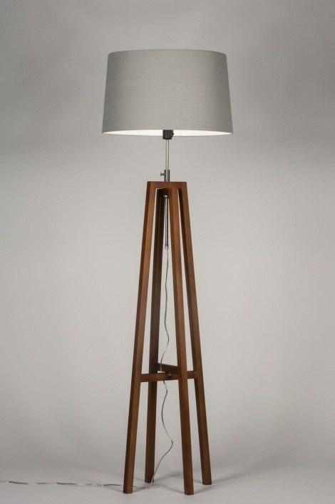 Vloerlamp 30549: modern, eigentijds klassiek, landelijk, rustiek #0
