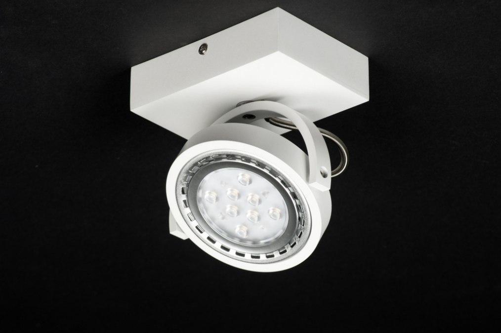Spot 30602: design, modern, aluminium, wit #0