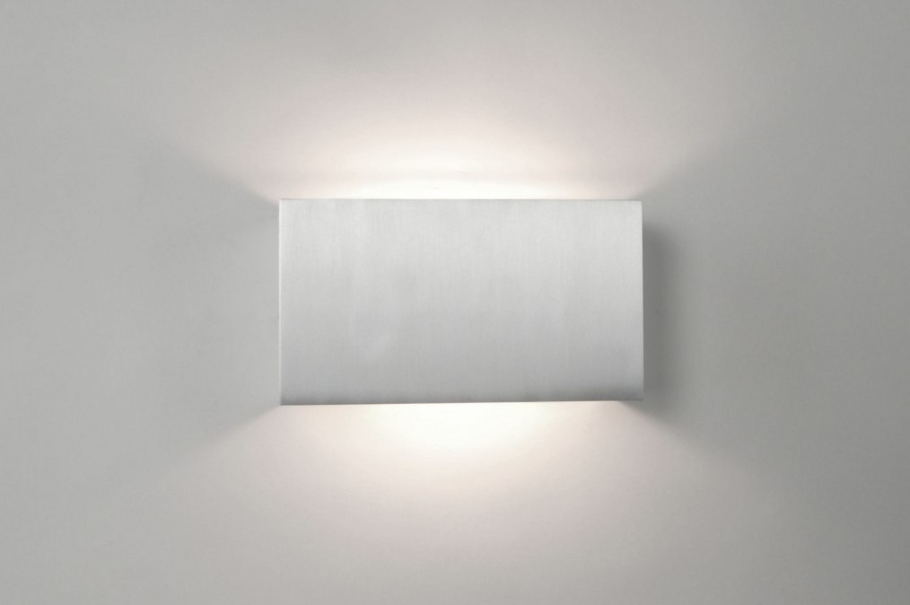 applique murale 30621 moderne aluminium aluminium acier. Black Bedroom Furniture Sets. Home Design Ideas
