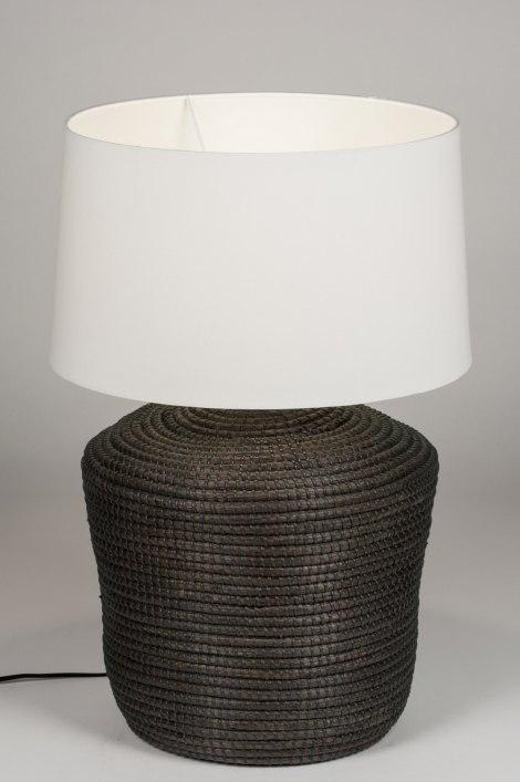 Tafellamp 30663: landelijk, rustiek, retro, eigentijds klassiek #0
