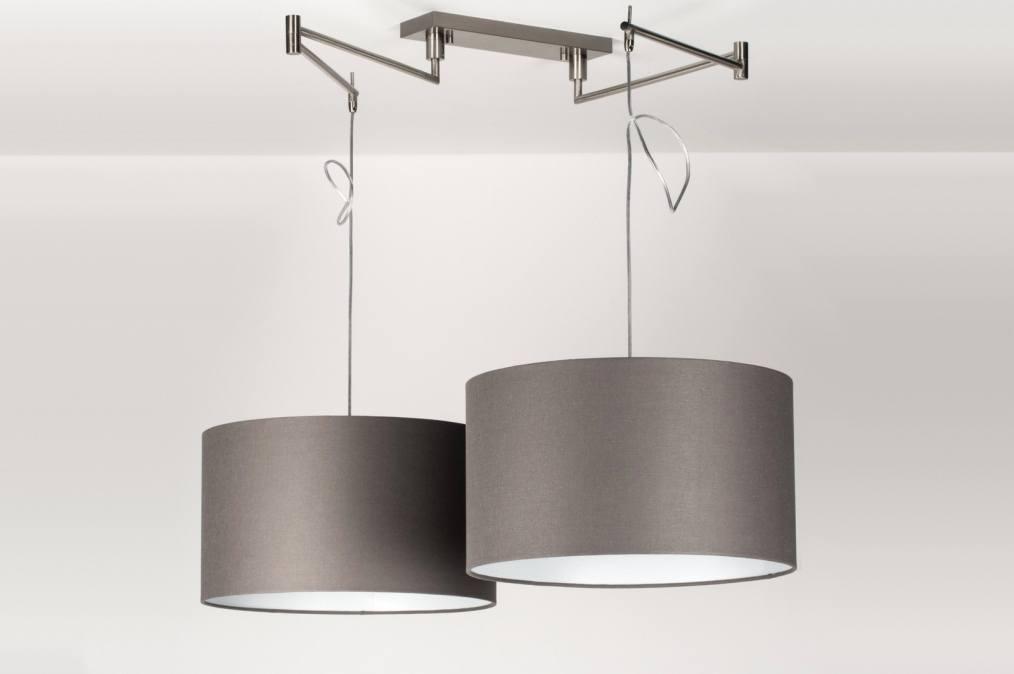 Hanglamp 30679 modern eigentijds klassiek landelijk rustiek grijs - Eigentijds huis grijs ...