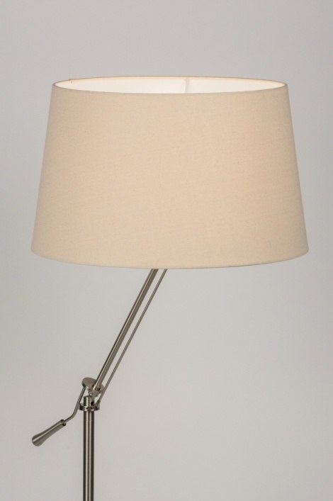Floor lamp 30687: rustic, modern, contemporary classical, stainless steel #0