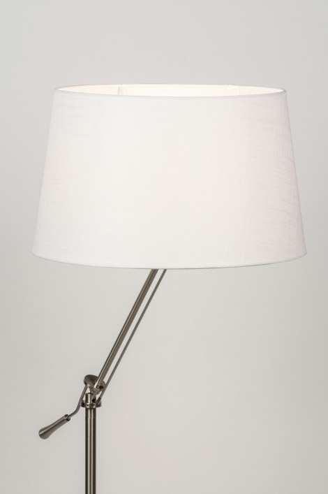 Floor lamp 30688: rustic, modern, contemporary classical, stainless steel #0