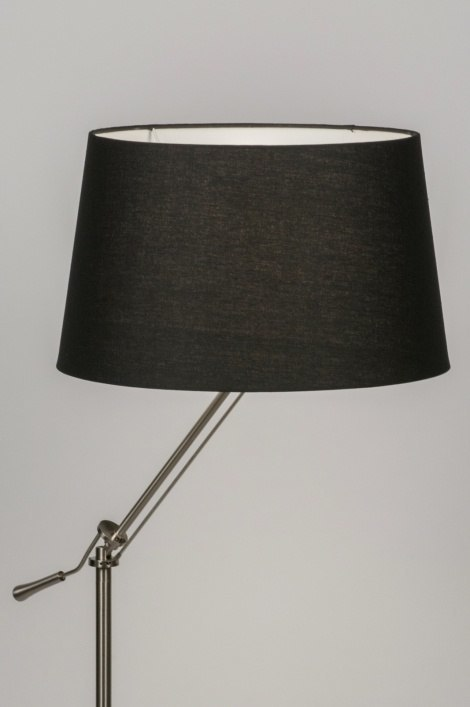 Floor lamp 30689: rustic, modern, contemporary classical, stainless steel #0