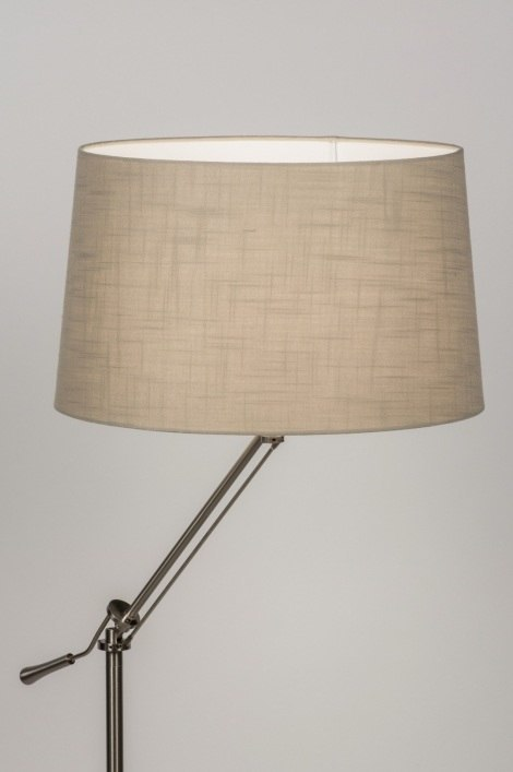 Floor lamp 30691: rustic, modern, contemporary classical, stainless steel #0