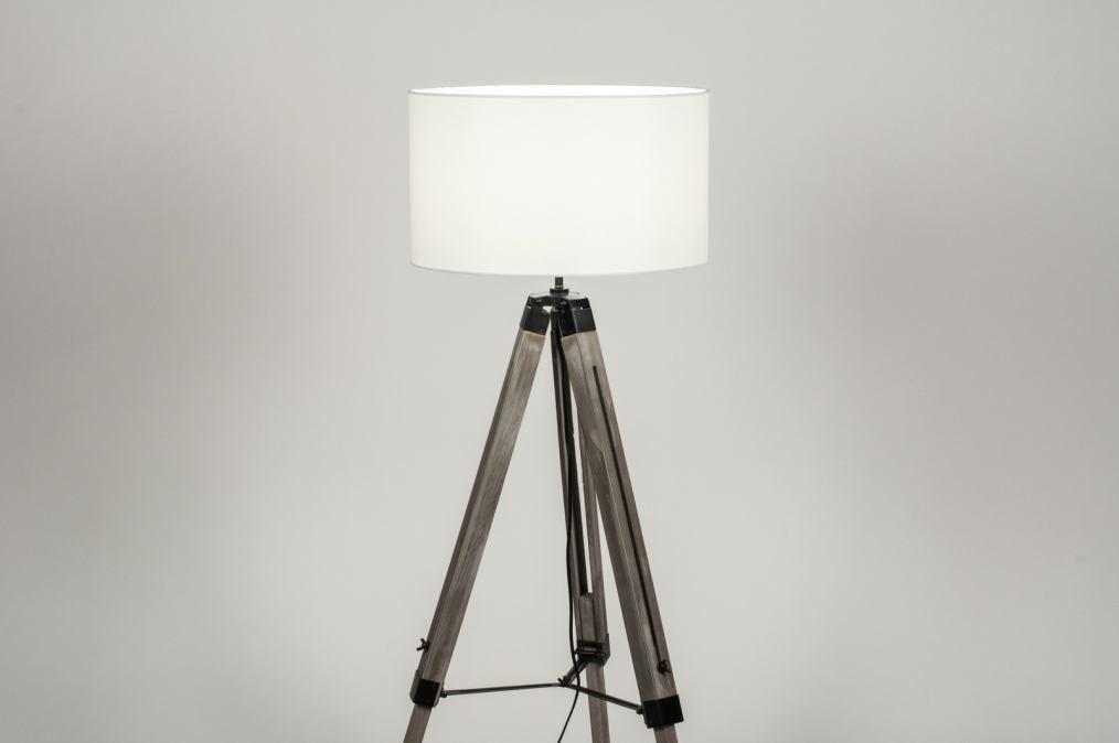 Stehleuchte 30706: Industrielook, laendlich rustikal, modern, coole Lampen grob #0