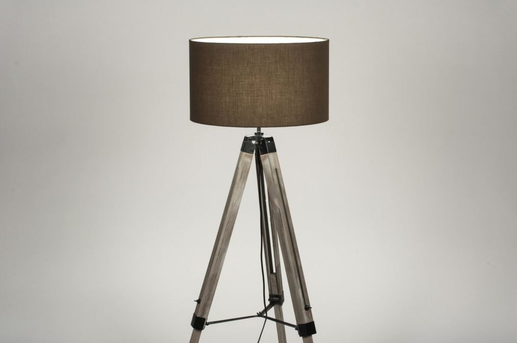 Stehleuchte 30707: Industrielook, laendlich rustikal, modern, coole Lampen grob #0