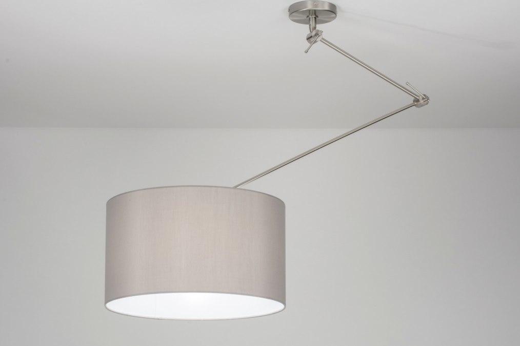 Plafondlamp 30712: landelijk, rustiek, modern, stof #0