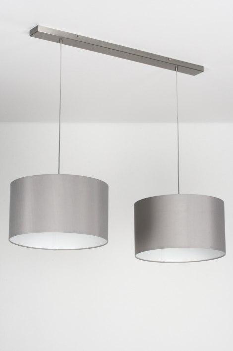 Hanglamp 30714 modern eigentijds klassiek landelijk rustiek grijs - Eigentijds huis grijs ...