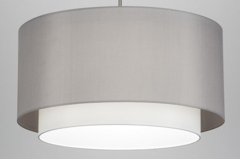 Hanglamp 30719: modern, landelijk, rustiek, grijs #0
