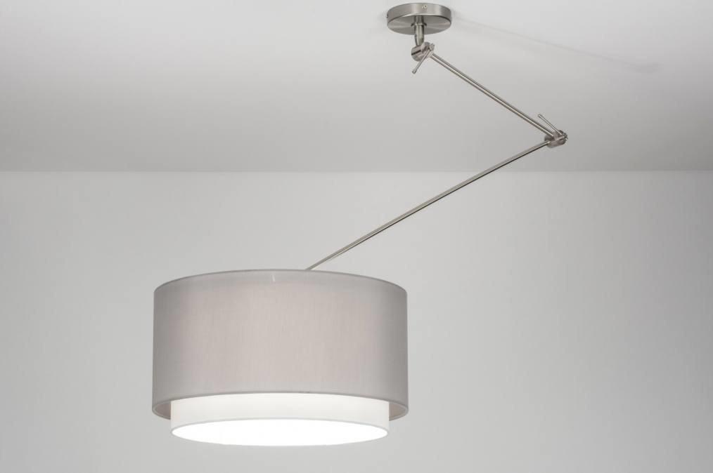 Hanglamp 30721: modern, landelijk, rustiek, grijs #0