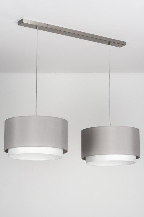 Hanglamp 30723 modern eigentijds klassiek landelijk rustiek grijs - Eigentijds huis grijs ...
