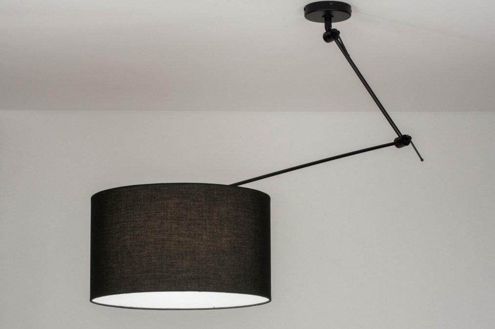 Hanglamp 30738: landelijk, rustiek, modern, stof #0