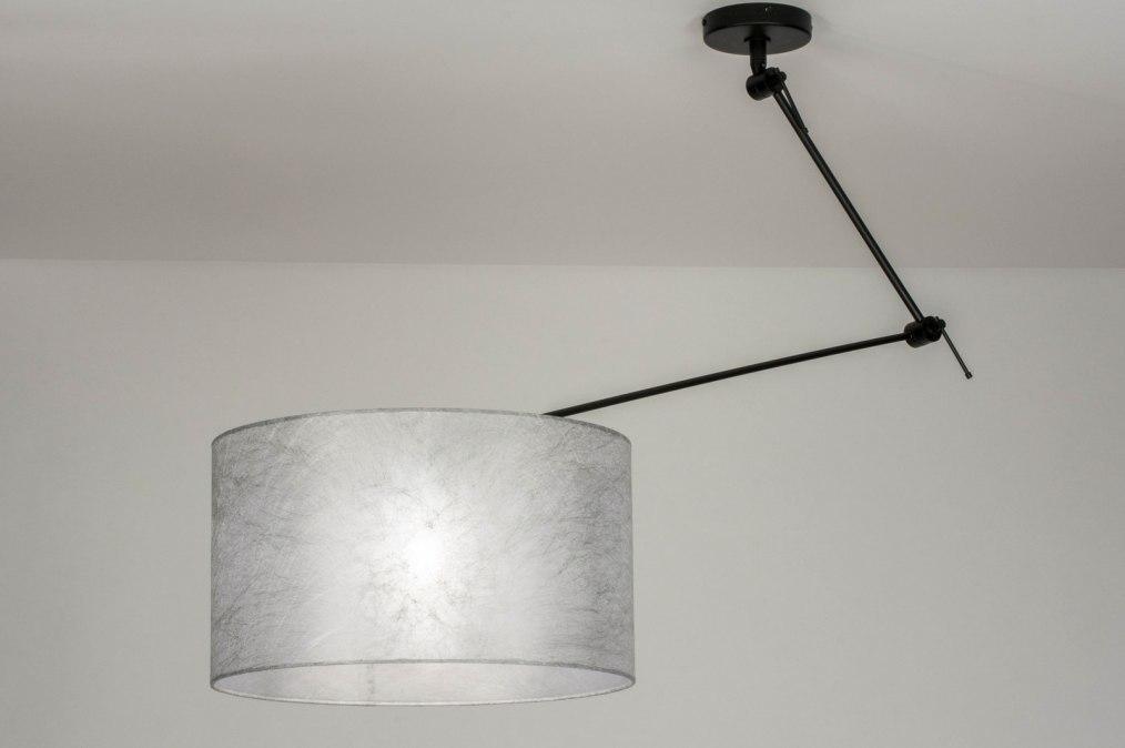Hanglamp 30739: landelijk, rustiek, modern, stof #0