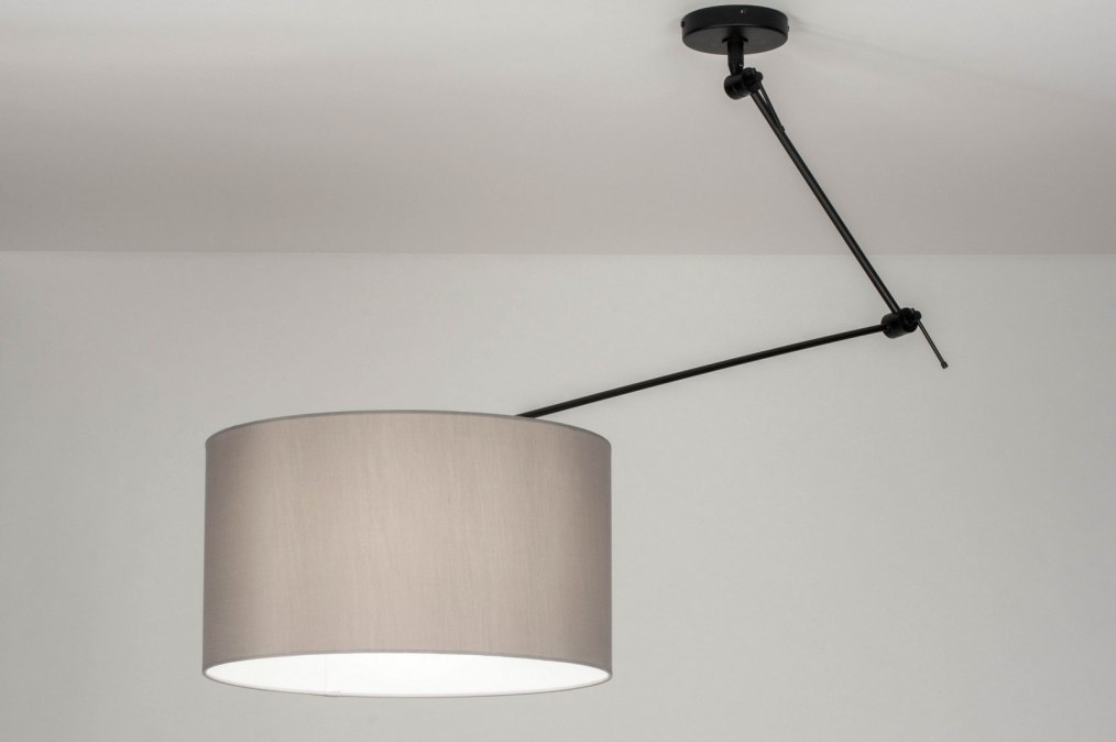 Hanglamp 30741: landelijk, rustiek, modern, stof #0