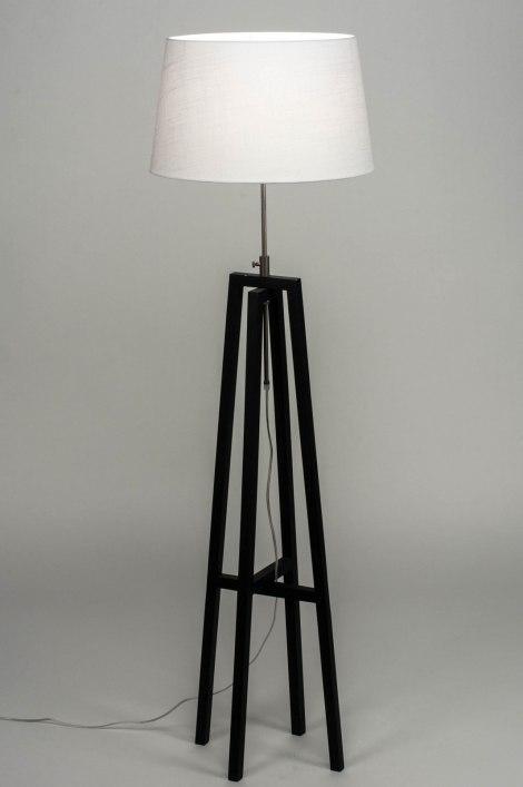 Stehleuchte 30744: laendlich rustikal, modern, zeitgemaess klassisch, Holz #0