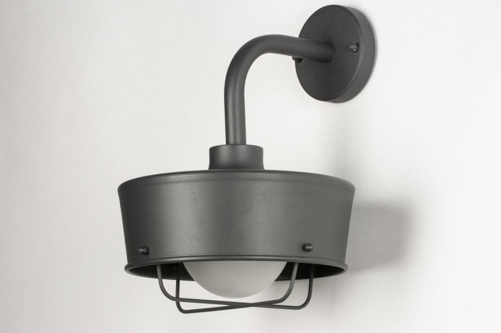 wandlamp 30754 industrie look landelijk rustiek. Black Bedroom Furniture Sets. Home Design Ideas