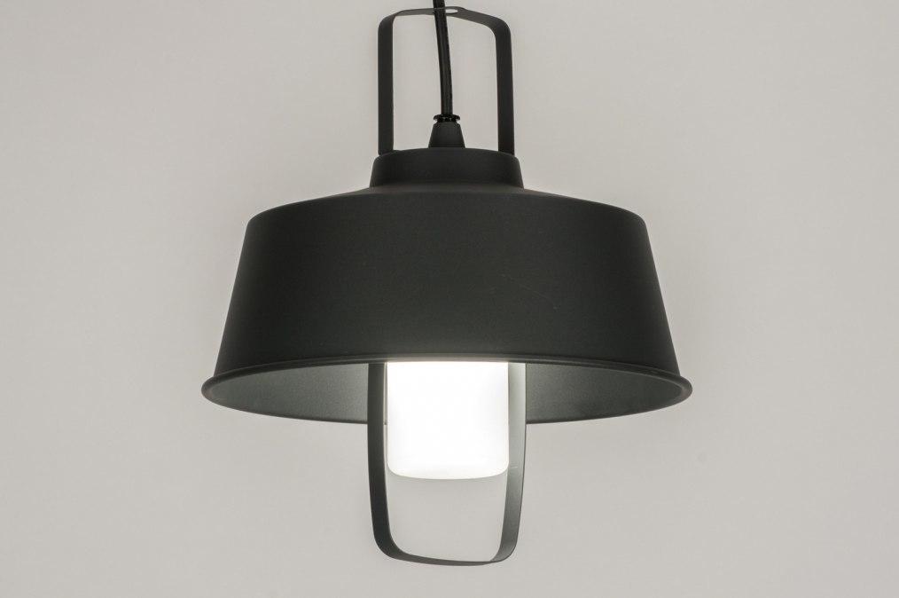 Hanglamp 30765: modern, landelijk, rustiek, antraciet donkergrijs #0