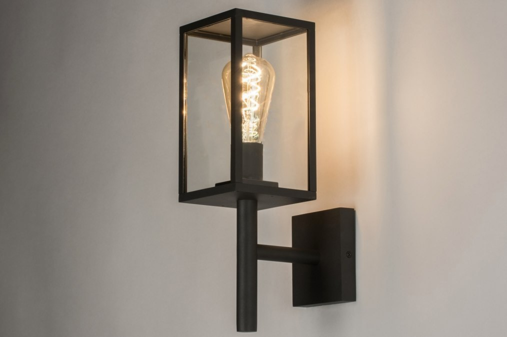 Wall lamp 30772: rustic, modern, glass, clear glass #0