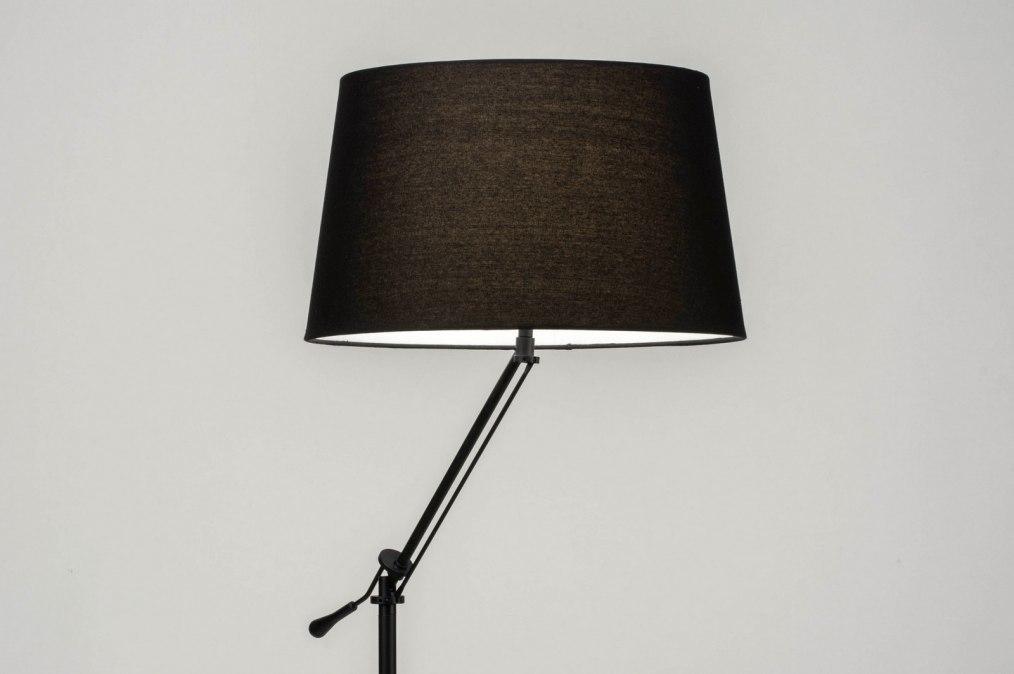 Vloerlamp 30786: modern, eigentijds klassiek, stof, metaal #0