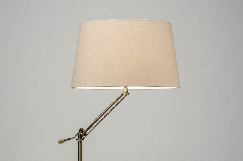 Staande lamp 30788: modern klassiek eigentijds klassiek beige