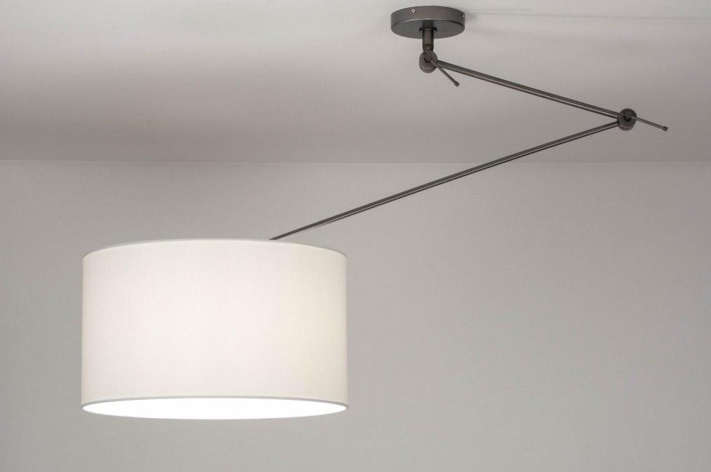 Hanglamp 30796: industrie, look, modern, stof #0