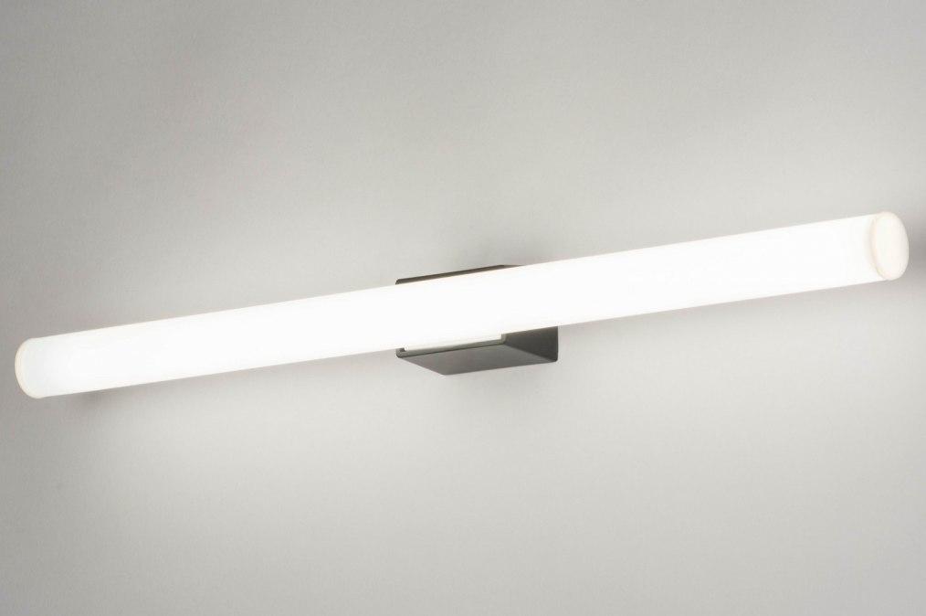 Wandlamp 30810: kunststof, metaal, zwart, mat #0