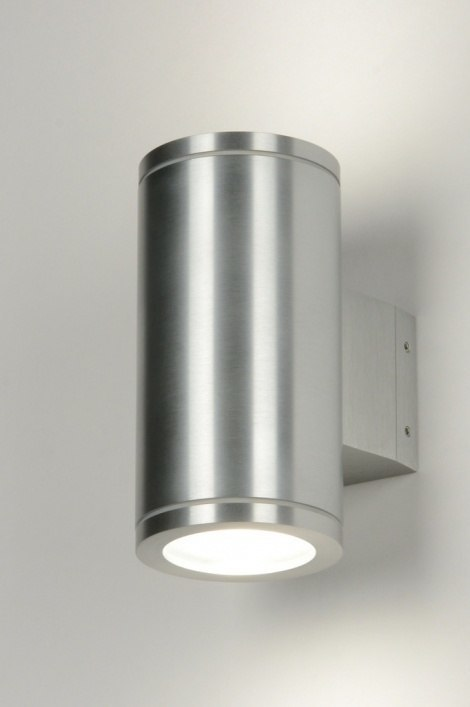Wandlamp 30821: design, modern, eigentijds klassiek, aluminium #0