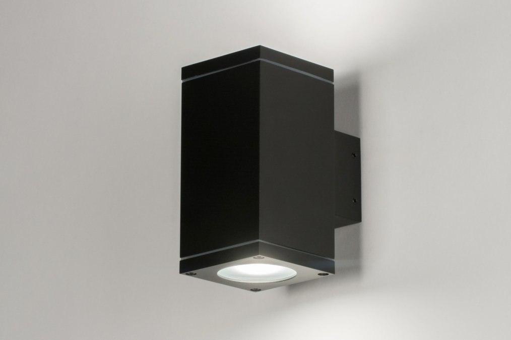Wandlamp 30822: industrie, look, modern, aluminium #0