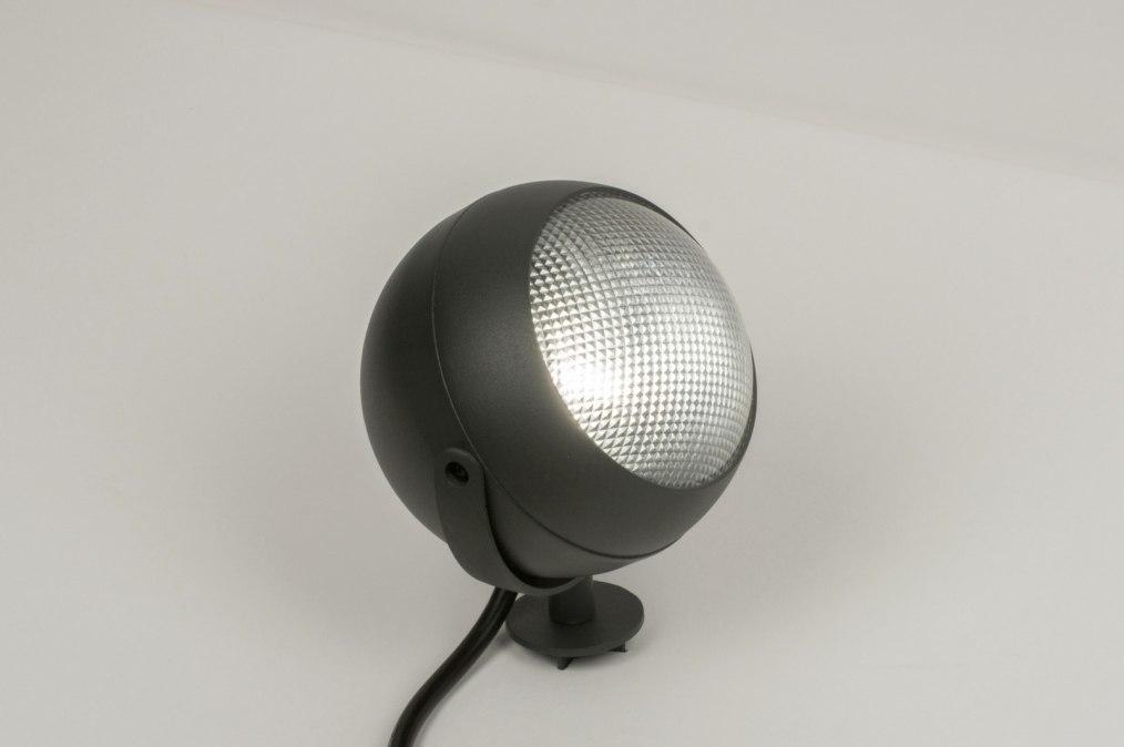 Buitenlamp 30845: modern, retro, aluminium, metaal #0