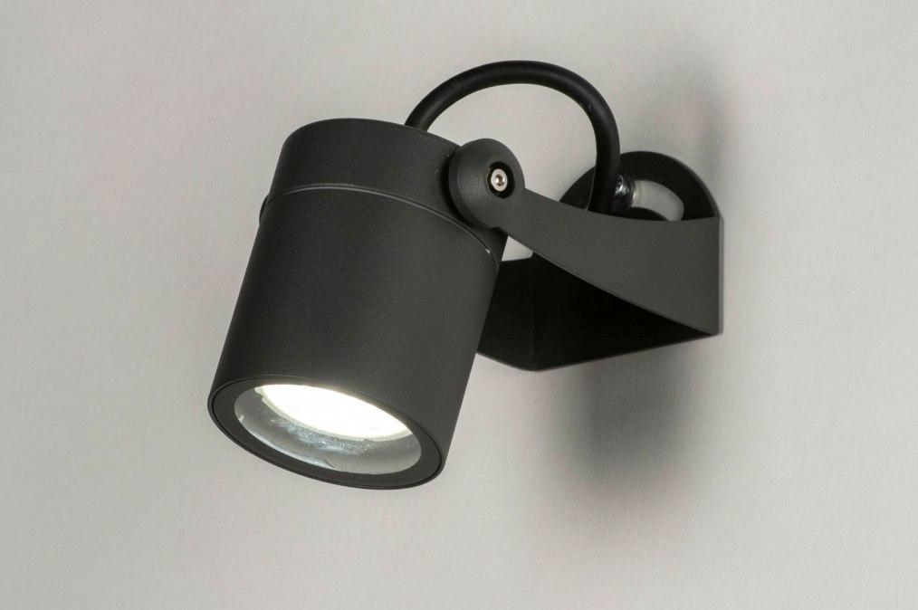 Buitenlamp 30847: modern, aluminium, metaal, antraciet donkergrijs #0