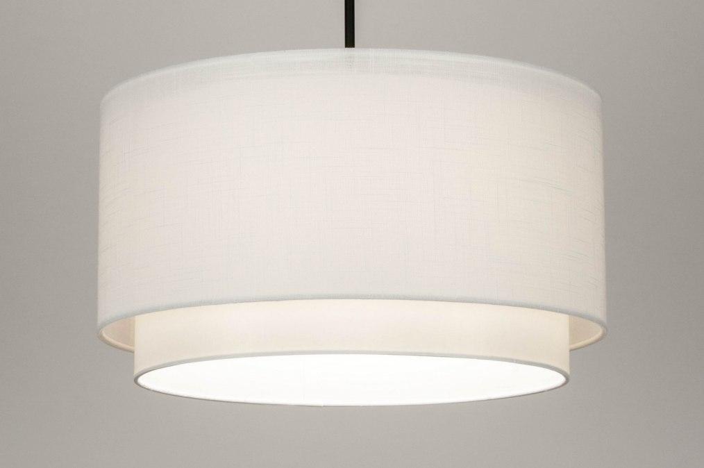 Hanglamp 30870: landelijk, rustiek, modern, stof #0