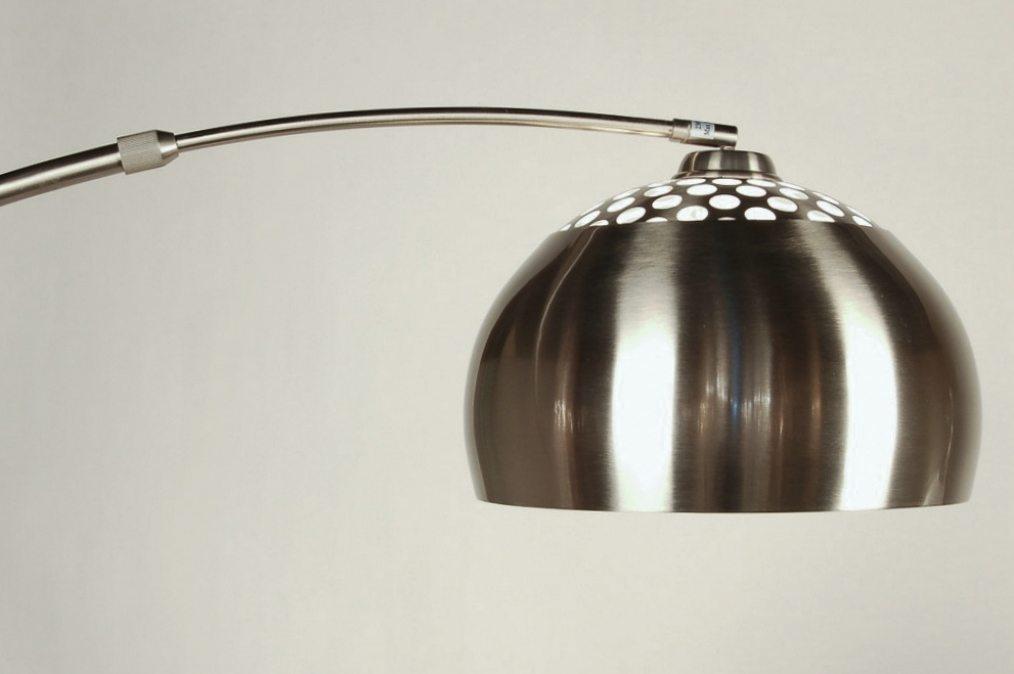 Vloerlamp 30876: modern, retro, staal rvs, metaal #0