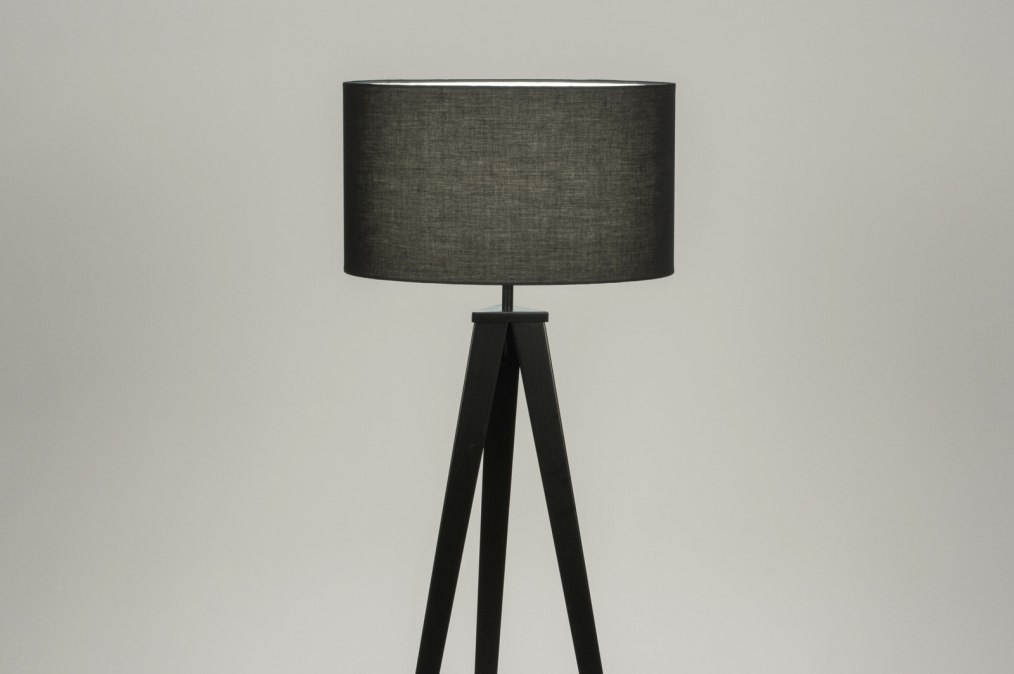 Floor lamp 30878: designer, modern, fabric, metal #0