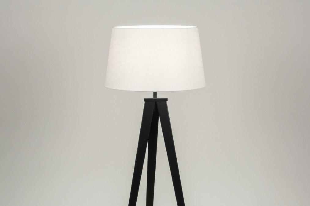 Vloerlamp 30885: design, modern, stof, metaal #0