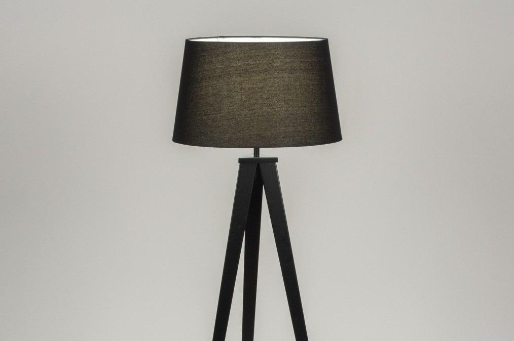 Vloerlamp 30886: design, modern, stof, metaal #0