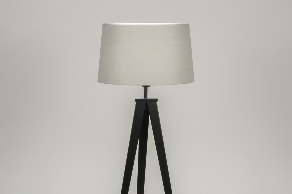 Vloerlamp 30887: design, modern, stof, metaal #0