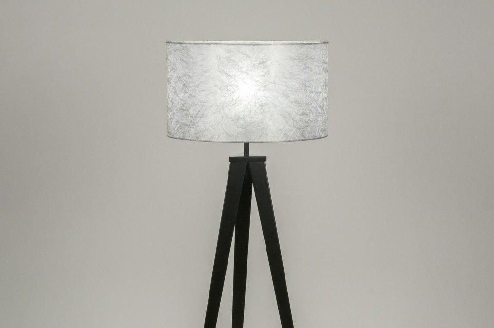 Vloerlamp 30888: design, modern, stof, metaal #0