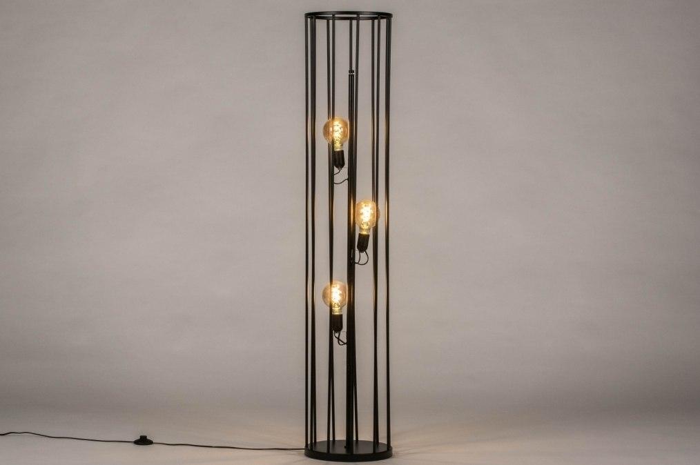 Vloerlamp 30891: industrie, look, modern, stof #0