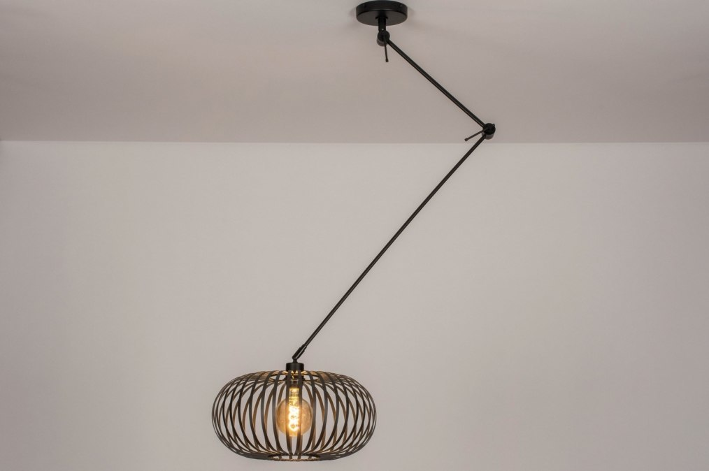 Suspension 30892: rural rustique, moderne, retro, acier #0