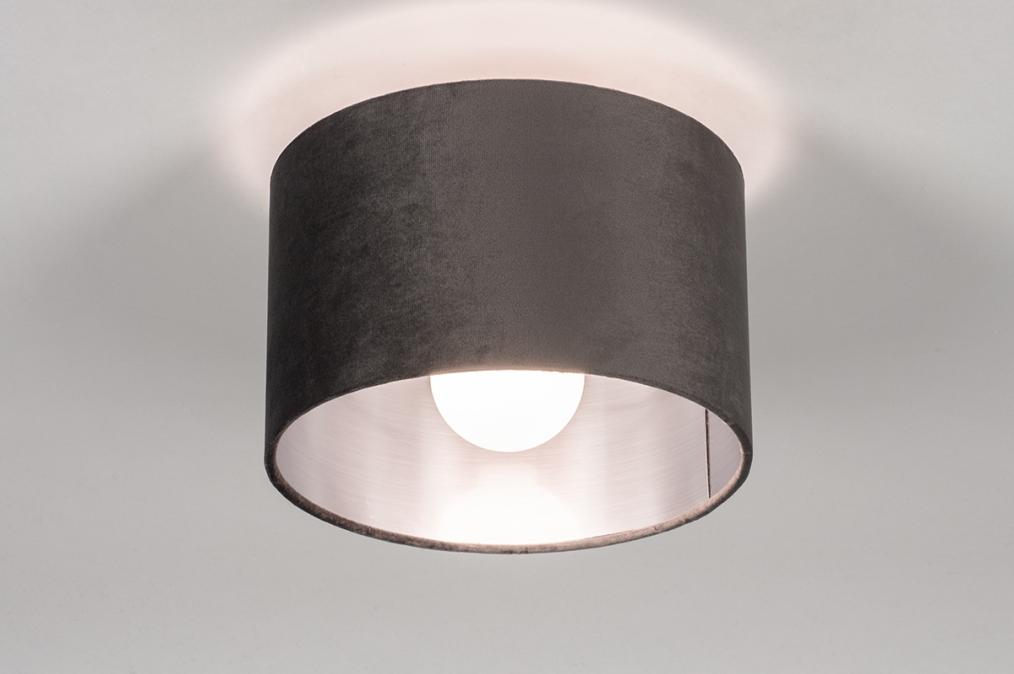 Plafondlamp 30912: modern, retro, eigentijds klassiek, stof #0