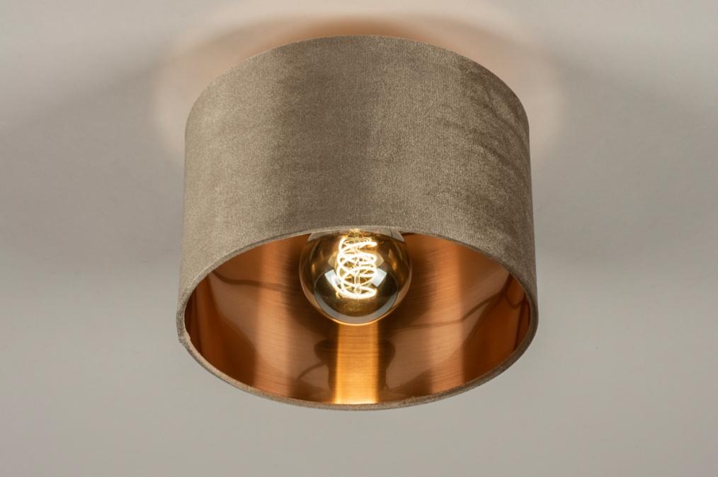 Plafondlamp 30913: modern, retro, eigentijds klassiek, art deco #0