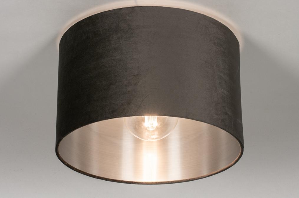 Plafondlamp 30916: modern, retro, eigentijds klassiek, stof #0