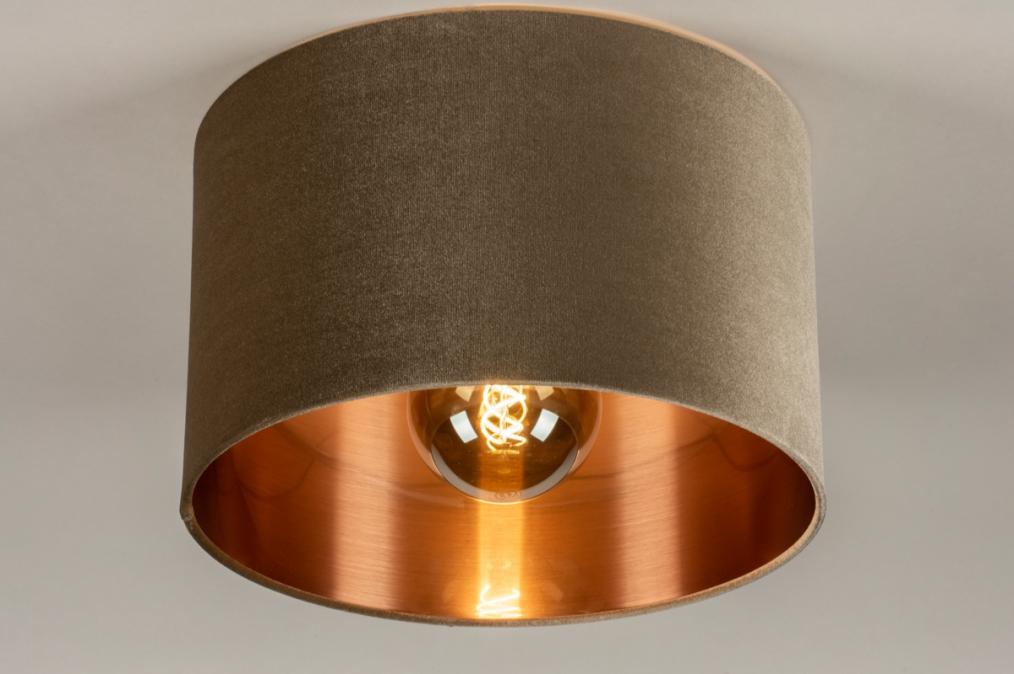 Plafondlamp 30917: modern, retro, eigentijds klassiek, art deco #0