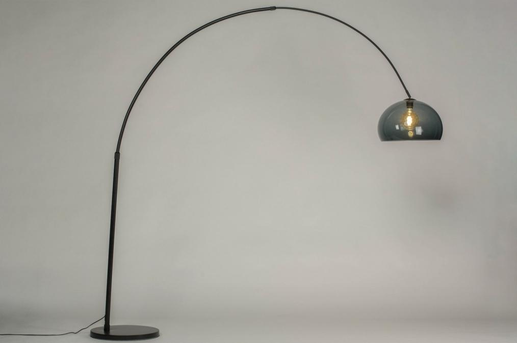 Vloerlamp 30943: modern, retro, kunststof, metaal #0