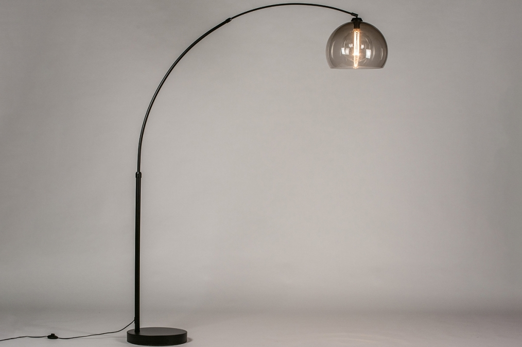Vloerlamp 30945: modern, retro, glas, kunststof #0