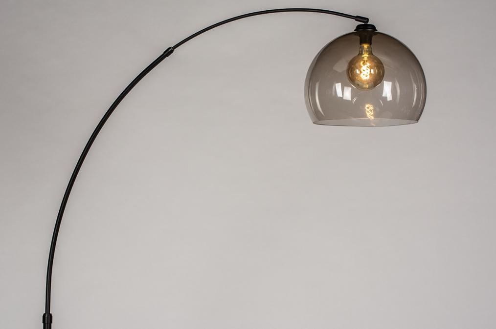 Vloerlamp 30951: modern, retro, glas, kunststof #0