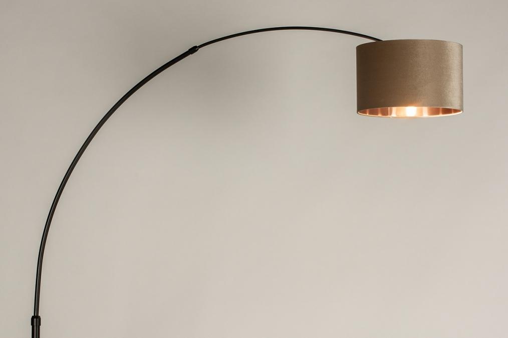 Vloerlamp 30954: modern, eigentijds klassiek, art deco, stof #0