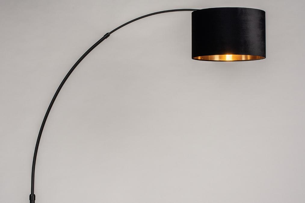 Vloerlamp 30955: modern, eigentijds klassiek, art deco, stof #0